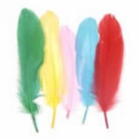 Himaco17376 Indianenveren 16cm-120stuks ass. kleuren