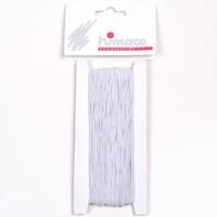 Himaco 3106.01 elastiek wit 1mm 25meter