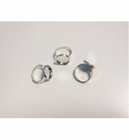 H&C Fun 12332-3211 Finger ring rond 14mm/ 3 stuks