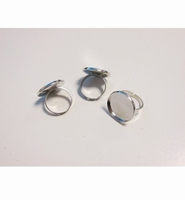 H&C Fun 12332-3212 Finger ring rond 20mm/ 3 stuks