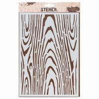 Stencil AMI234464 Wood A4