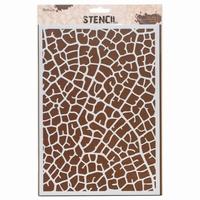 Stencil AMI234457 Leaf vein A4
