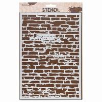 Stencil AMI234433 Brick wall A4