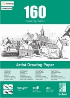 Schut Artist Drawing papier bloc 30vel 160grams art. 1533