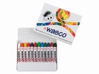 Wasco ''vetkrijt'' set van 12 stuks art. 1010C12 Talens AANBIEDING BTS