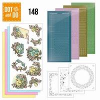 DOT and DO set 148 Spring Birdhouses