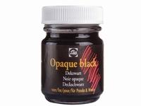 Talens dekzwart opaque black art. 34240700 50ml AANBIEDING BTS