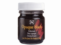 Talens dekzwart opaque black art. 34240700 50ml