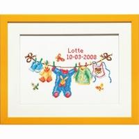 PAKO 076.225298 Geboorte waslijntje borduurpakket