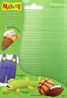 Makin's texture sheets SetB art.38002 Ruit,streep,stip 17,5 x 11,5 cm