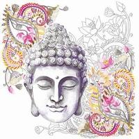 NIEUW Servetten Ambiente 1330_3036 Buddha hoofd