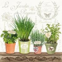 NIEUW Servetten Ambiente 1330_9790 Jardin Provence