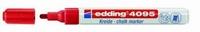 Edding 4095-002 Chalkmarker/Windowmarker Rood