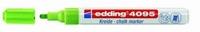 Edding 4095-011 Chalkmarker/Windowmarker Lichtgroen