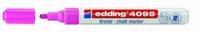 Edding 4095-069 Chalkmarker/Windowmarker Neon  Roze