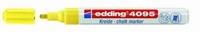 Edding 4095-065 Chalkmarker/Windowmarker Neon Geel