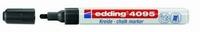 Edding 4095-001 Chalkmarker/Windowmarker Zwart