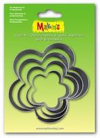 Makins Clay Cutterset groot 36505 Flower 4 stuks