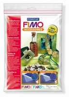 FIMO texture sheet set 874405: Wood en Basket 168x150mm