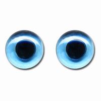 Meyco 23321 Glazen poppenogen blauw 10mm, 1 paar