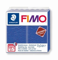 Fimo Soft effect leather 309 Indigo blue NIEUW 4-2019