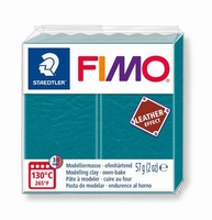 Fimo Soft 369 effect leather Lagune