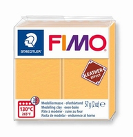 Fimo Soft 109 effect leather Saffron Yellow