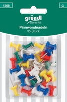 Grundl 1368C Push pins 35stuks