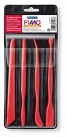 FIMO Accessoires 7887-11 Modelleerset/boetseerspatels set van 4 stuks
