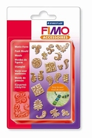 FIMO siliconen duwvorm/pushmold 8725-08 Ornamenten