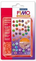 FIMO siliconen duwvorm/pushmold 8725-07 ABC/123