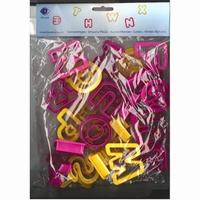 FIMO uitsteekvormen Alfabet art. 872401 4 cm