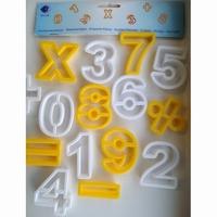 FIMO uitsteekvormen Cijfers art. 872402 4 cm