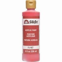 Folk Art acrylverf 824 Lipstick Red 236ml/8oz
