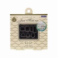 Padico Jewel Mold NL008 Mini Simple Shape
