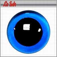 Ogen: Veiligheidsogen blauw  8mm, Lesuh 4800708