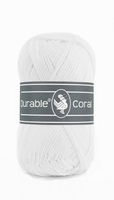 Durable Coral katoen  310 White
