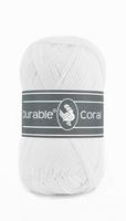 Durable Coral haakkatoen  310 White