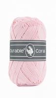 Durable Coral haakkatoen  386 Rosa