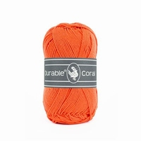 Durable Coral haakkatoen 2194 Oranje