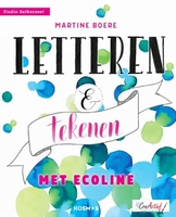 Letteren en tekenen met Ecoline, Martine Boer