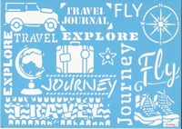 Pronty blue Stencil 470.529.010 Travel