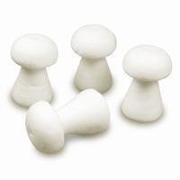 Meyco 41171 Paddestoeltjes van geperst papier, 4 stuks 6x4cm