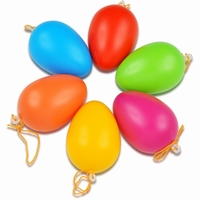 Meyco 45021 gekleurde kunststof eieren set 12 stuks