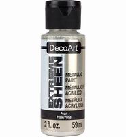 DecoArt metallic acrylverf DPM01 Extreme Sheen Pearl