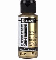 DecoArt metallic acrylverf DPM02 Extreme SheenChampagne gold