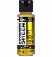 DecoArt metallic acrylverf DPM04 Extreme Sheen 24K gold