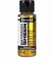 DecoArt metallic acrylverf DPM05 Extreme Sheen Vintage Brass