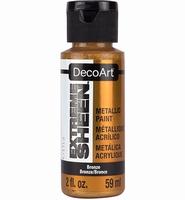 DecoArt metallic acrylverf DPM06 Extreme Sheen Bronze