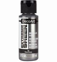 DecoArt metallic acrylverf DPM09 Extreme Sheen Tin